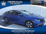 Photo 2020 Honda Civic LX, Aegean Blue Metallic in...