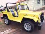 Foto Ford Rural 1959 JEEP WILLYS 2P Manual Amarela