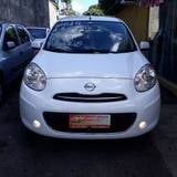 Foto Nissan march 1.6 SV 16V FLEX 4P MANUAL - Branco...