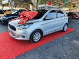 Foto Ford ka + 1.0 se plus 12v4p manual 2018 flex prata