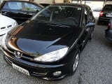 Foto Peugeot 206 moonlight 1.4 4p flex - preto - 2008