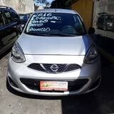 Foto Nissan march 1.6 S 16V FLEX 4P MANUAL - Prata -...