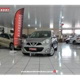 Foto Nissan march 1.0 SV 12V FLEX 4P MANUAL - Cinza...