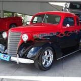 Foto Chevrolet coupe three window - preto - 1938/ - 100