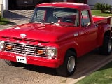 Foto Pick-up, Ford F-100 Modelo 1964