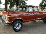 Photo 1979 Ford F250 XLT Extended Cab 4X4 96k...