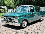 Photo 1966 Ford F-100 Short Bed Power Steering