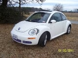 Photo 2009 Volkswagen Beetle - White Black - 14K Mi