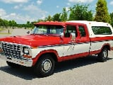 Photo 1979 Ford F-250 Super Cab 4k Original Miles