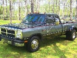 Photo 1993 dodge ram 3500 diesel dually