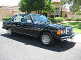 Photo 1980 Mercedes-Benz 300D Black
