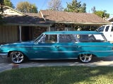 Photo 1963 ford galaxie station wagon