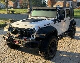Photo 2014 Jeep Wrangler RUBICON SUV White 4WD Manual