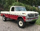 Photo 1970 ford f-250 ranger highboy