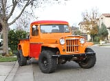 Photo 1962 Willys Pickup Holley 4 Barrel