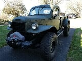 Photo 1948 Dodge Power Wagon Green 4WD Automatic