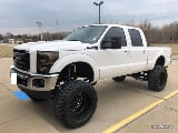 Photo 2012 Ford F250 Super Duty Lariat Diesel Lifted...