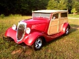 Photo 1934 Ford Woody Wagon